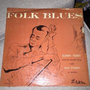Folk Blues 1954 album Sonny Terry  Alec Stewart
